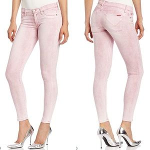 Hudson krista super skinny gypsy pink jean 28 pant